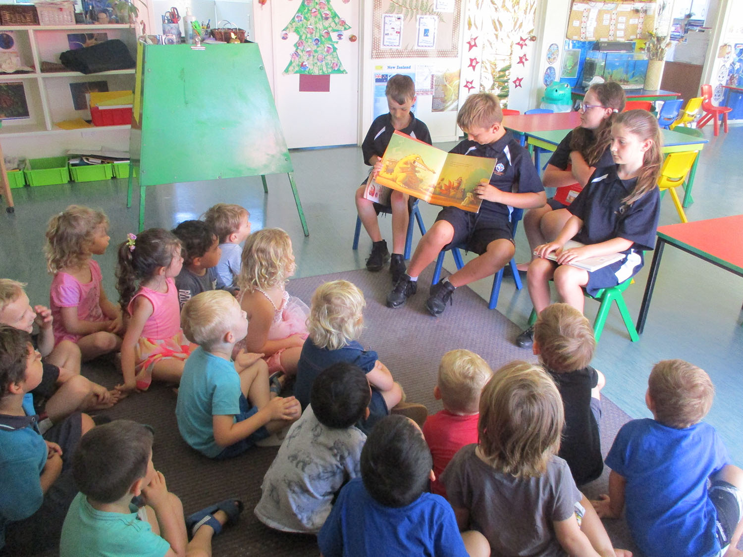 Visit from Gulf Harbour Primary
